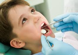 children at dentist, landis refining